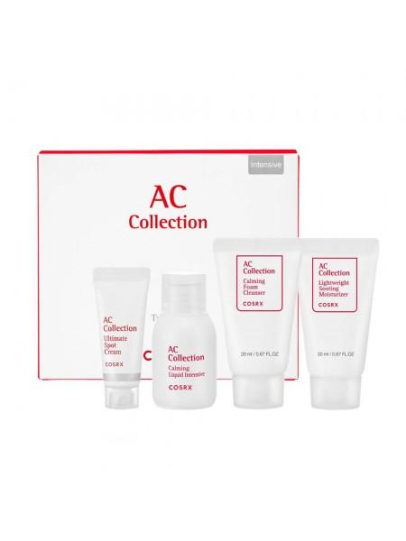 Набор для ухода за жирной кожей COSRX AC Collection Trial Kit Intensive