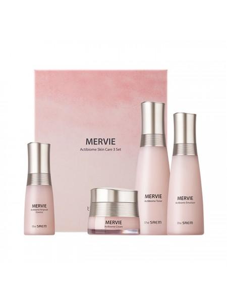 Подарочный набор косметики с пробиотиками THE SAEM Mervie Actibiome Skin Care 3 Set