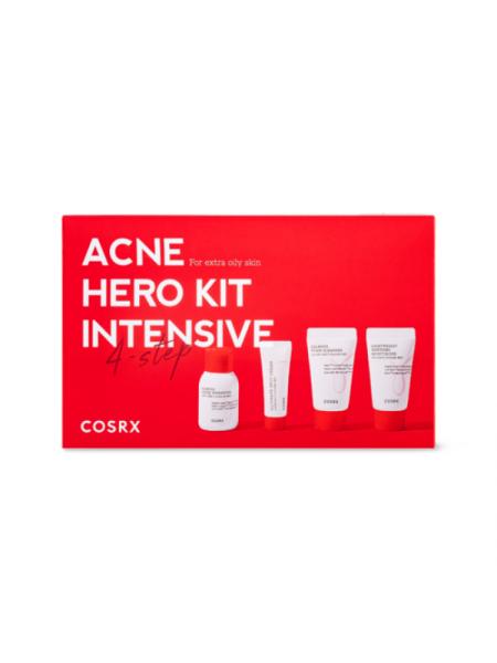 Набор миниатюр для ухода за жирной кожей Cosrx Acne Hero Kit INTENSIVE