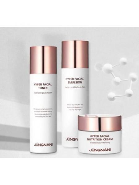 Набор уходовый с пептидами JUNGNANI Hyper Facial Special Skincare 3 Set