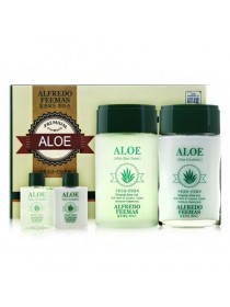 Мужской набор с экстрактом алоэ Alfredo Feemas Aloe Skin Care Set