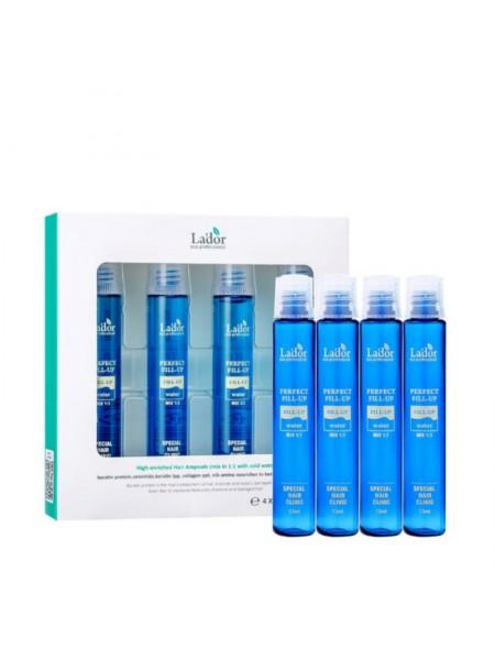 Филлер для восстановления волос Lador PERFECT HAIR FILL-UP 13ML x 4EA 13мл*4