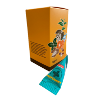 Purederm Scalp Cooling Hair Mask Pack Peppermint Освежающая маска для волос и головы в пирамидках, 12шт*20г