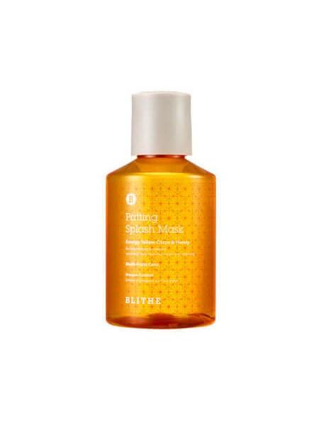 Витаминная сплэш-маска для сияния кожи Blithe Energy Yellow Citrus&Honey Splash Mask
