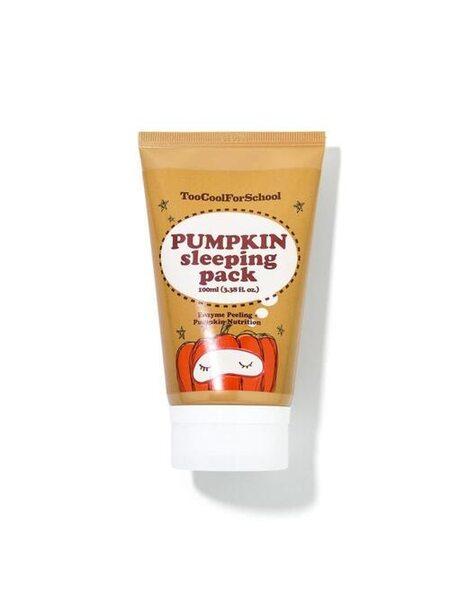 Энзимная ночная маска с тыквой и керамидами Too Cool For School Pumpkin Sleeping Pack (mini), 30мл