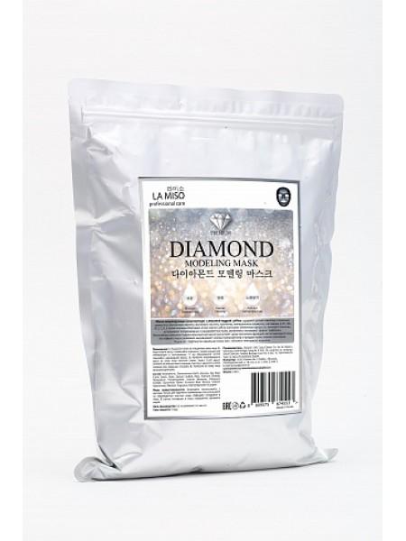 Маска моделирующая (альгинатная) с алмазной пудрой La Miso Diamond Modeling Mask