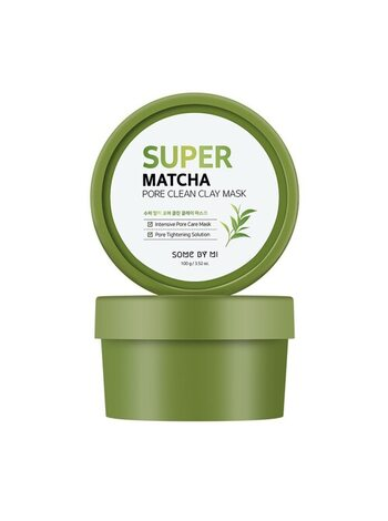 Очищающая глиняная маска с чаем матча Some By Mi Super Matcha Pore Clean Clay Mask, 100мл