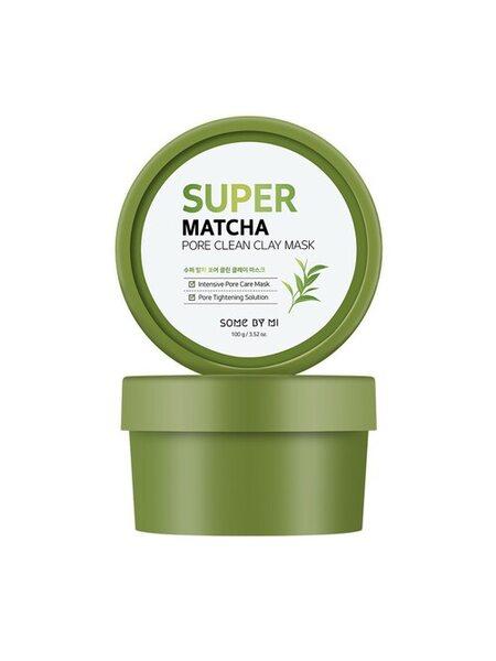 Очищающая маска с чаем матча Some By Mi Super Matcha Pore Clean Clay Mask, 100мл