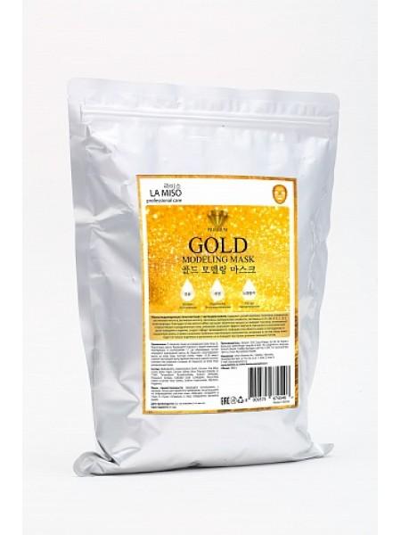 Маска моделирующая (альгинатная)с золотом La Miso Gold Modeling Mask
