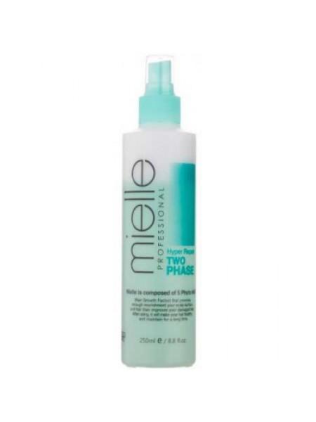 Двухфазный спрей  для волос Mielle Professional Hyper Repair Two Phase, 250ml