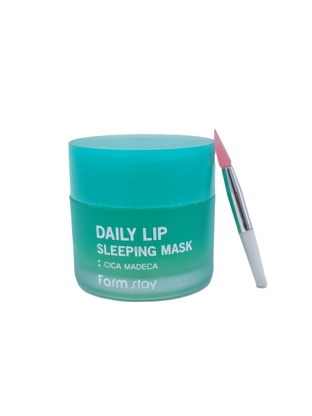 Ночная маска для губ с центеллой FarmStay Daily Lip Sleeping Mask Cica, 20гр.