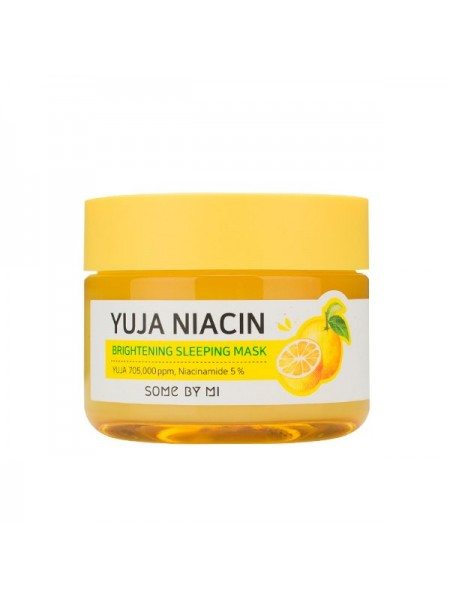 Ночная маска для сияния кожи Some By Mi Yuja Niacin 30 Days Miracle Brightening Sleeping Mask