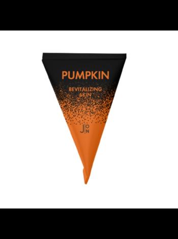 Набор ночных масок для лица с тыквой J:on Pumpkin revitalizing skin sleeping pack, 5г*20шт