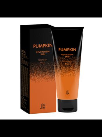 J:on Маска ночная для лица «тыква» - Pumpkin revitalizing skin sleeping pack, 50мл
