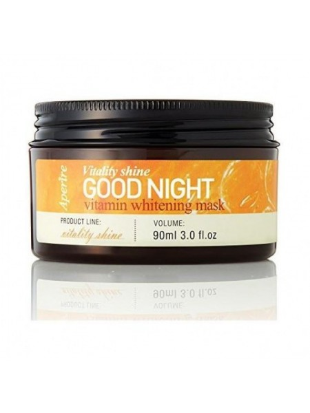 Ночная маска с витаминами Aperire Vitality Shine Good Night Vitamin Whitening Mask