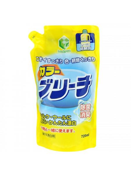 Daiichi Color Blich гелевый отбеливатель для деликатных тканей и цветного белья (мягкая экономичная упаковка), 720 мл