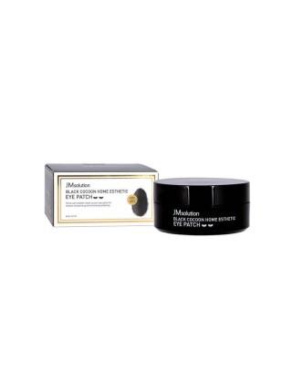 Гидрогелевые патчи с протеинами шёлка и углём JMsolution Black Cocoon Home Esthetic Eye Patch, 60шт