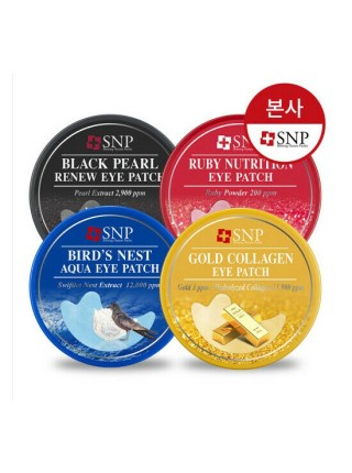 Патчи для глаз SNP Gold Collagen Eye Patch 60 шт.