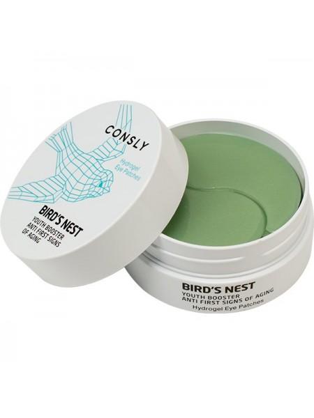 Укрепляющие гелевые патчи для глаз Consly Hydrogel Bird's Nest Eye Patches (60 шт)