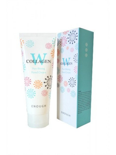 Крем для рук ENOUGH W Collagen Pure Shining Hand Cream