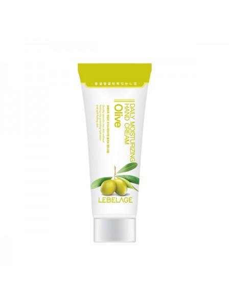 Крем для рук с оливковым маслом LEBELAGE Daily Moisturizing Olive Hand Cream