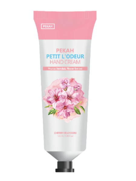 Крем для рук ЦВЕТУЩАЯ ВИШНЯ PEKAH Petit L'odeur Hand Cream