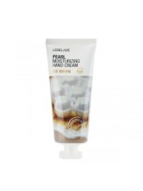 Осветляющий крем для рук с экстрактом жемчуга  Lebelage Pearl Moisturizing Hand Cream