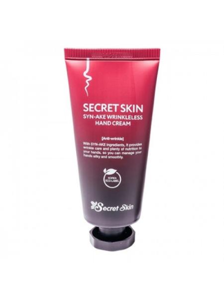 Крем для рук с пептидом змеиного яда Secret Skin SYN-AKE Wrinkless Hand Cream