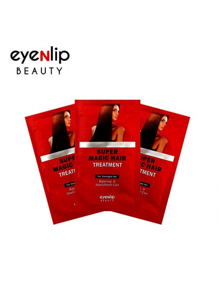 Восстанавливающая питательная маска для поврежденных волос  пробник EYENLIP Super Magic Hair Treatment [Sample] 13мл