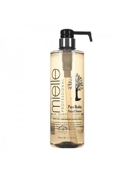 Терапевтический шампунь для ослабленных волос Mielle Pure-Healing Natural Shampoo 800ml
