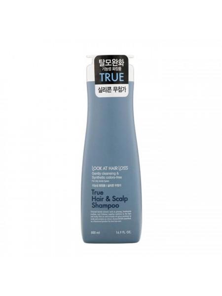 Укрепляющий шампунь против выпадения волос Daeng Gi Meo Ri Look At Hair Loss True Hair & Scalp Shampoo