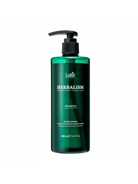 Слабокислотный травяной шампунь с аминокислотами Lador Herbalism Shampoo