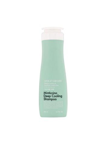 Шампунь для жирной кожи головы DAENG GI MEO RI Look At Hair Loss Minticcino Deep Cooling Shampoo 500 мл