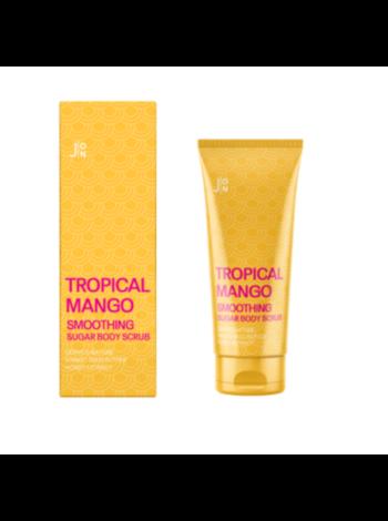 J:on Скраб для тела Манго Tropical mango smoothing sugar body scrub, 250г