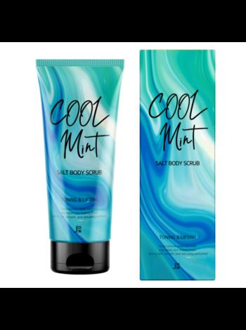 J:on Скраб для тела подтягивающий - Cool mint salt body scrub, 250г