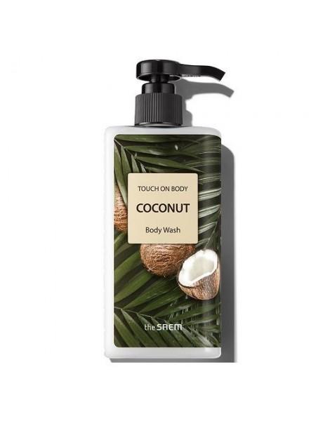 Гель для душа с кокосом The Saem Touch On Body Coconut Body Wash