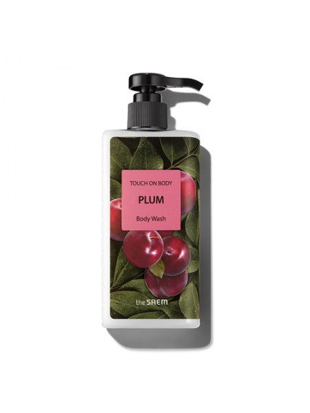 Гель для душа Слива  The Saem TOUCH ON BODY Plum Body Wash