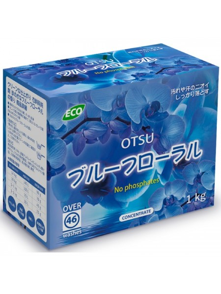 Концентрированный стиральный порошок OTSU Цветочный сад / Abeko / 1кг.