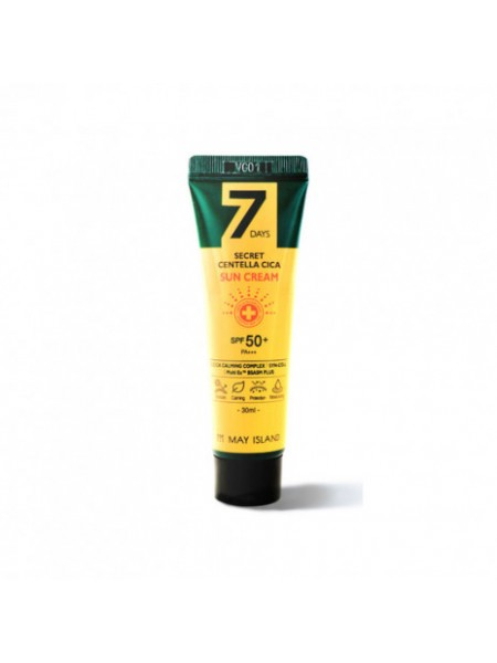 Солнцезащитный крем с центеллой 7 Days Secret Centella Cica Sun Cream SPF50 30мл