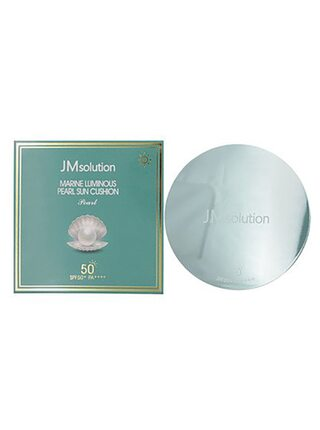 JMsolution Солнцезащитный кушон с экстрактом жемчуга - Marine luminous pearl sun cushion SPF42, 25г