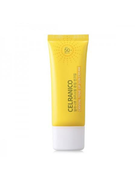 Солнцезащитный крем для выравнивания тона CELRANICO Crystal Tone Up Sun Cream SPF50/PA+++