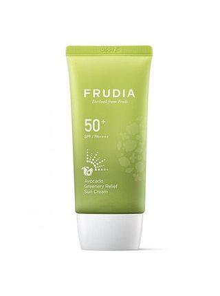 Солнцезащитный крем с авокадо RUDIA Avocado Greenery Relief Sun Cream SPF50+ PA ++++, 50г
