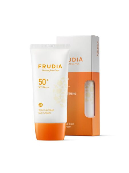 Солнцезащитная тональная крем-основа FRUDIA Tone Up Base Sun Cream SPF50+ PA+++ 50мл