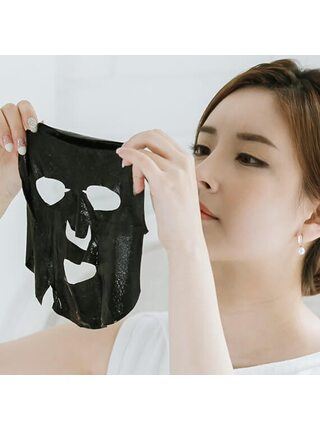 Чёрная маска с углём Dr. Althea Pore-Control Charcoal Mask, 28г