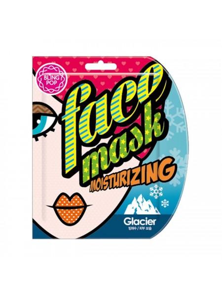 Увлажняющая тканевая маска BLING POP GLACIER MOISTURIZING MASK 25мл