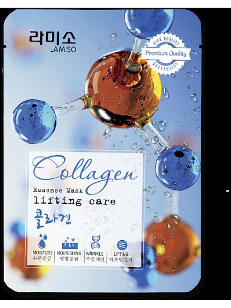 Тканевая маска с коллагеном La Miso Essence Mask Premium Quality Collagen