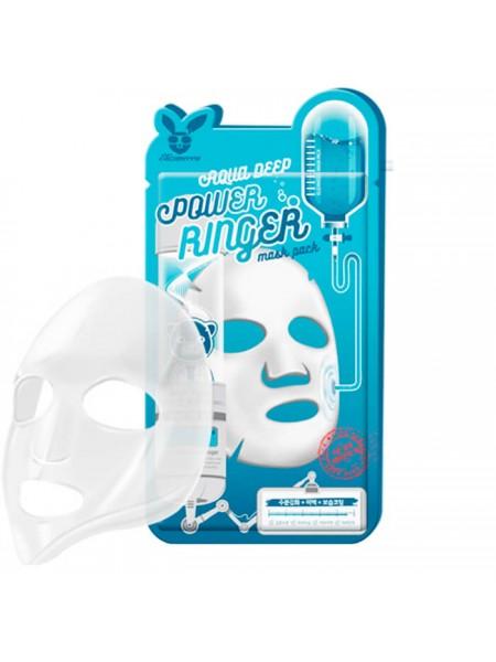 Увлажняющая тканевая маска ELIZAVECCA Aqua Deep Power Ringer Mask Pack