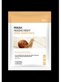 Вечерняя восстанавливающая маска с пептидами и муцином улитки Pekah Healing Snail Night Mask Pack (Набор 5 Шт)