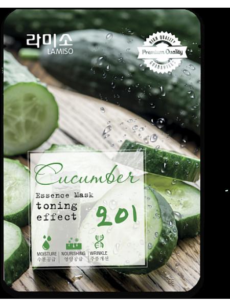 Маска с экстрактом Огурца La Miso Essence Mask Premium Quality Cucumber
