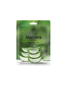 Med B Маска тканевая с экстрактом алоэ вера - 1 Day aloe vera mask pack, 27мл